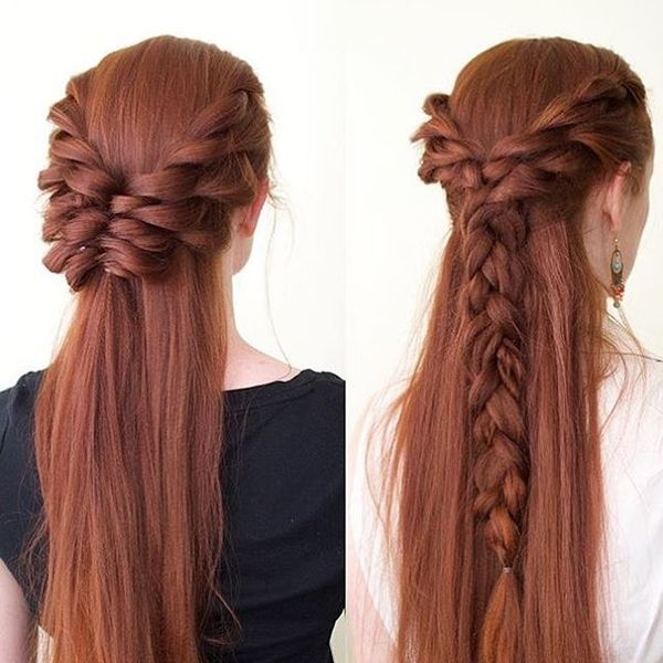Braids for red hair