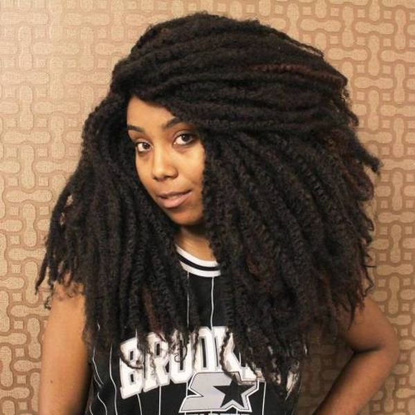 Natural Crochet Hairstyles with Curly Hair 4