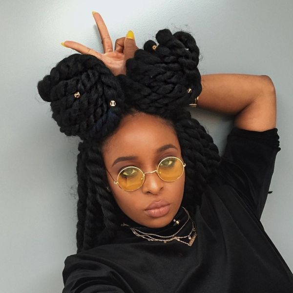 Nifty Huge Crochet Twists