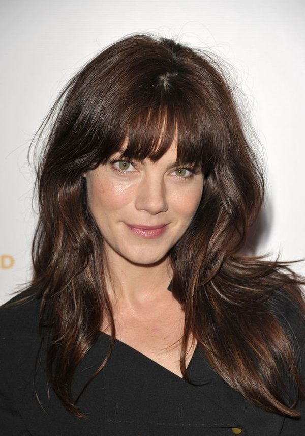 Long Layered Haircuts with Bangs - Long Layered Hair in 2018