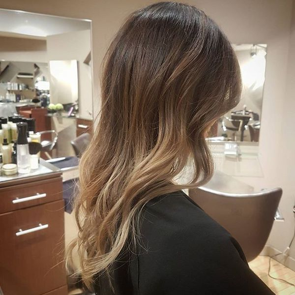 Soft Balayage for Fine Straight Hair