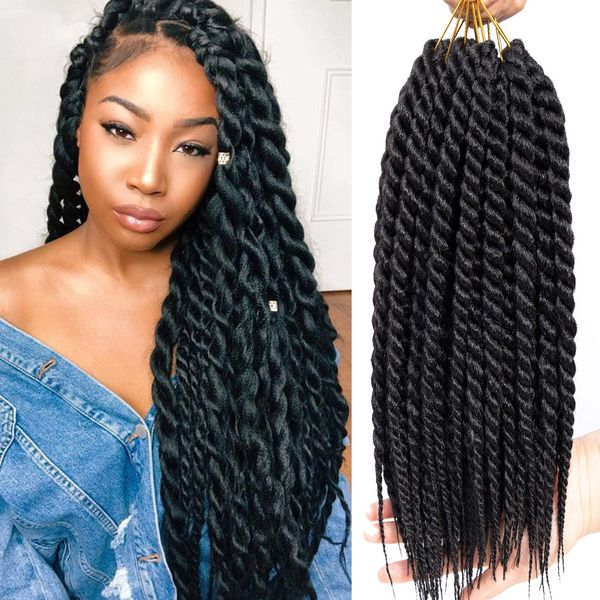 Crochet Braid Hairstyles (Trending in December 2019)