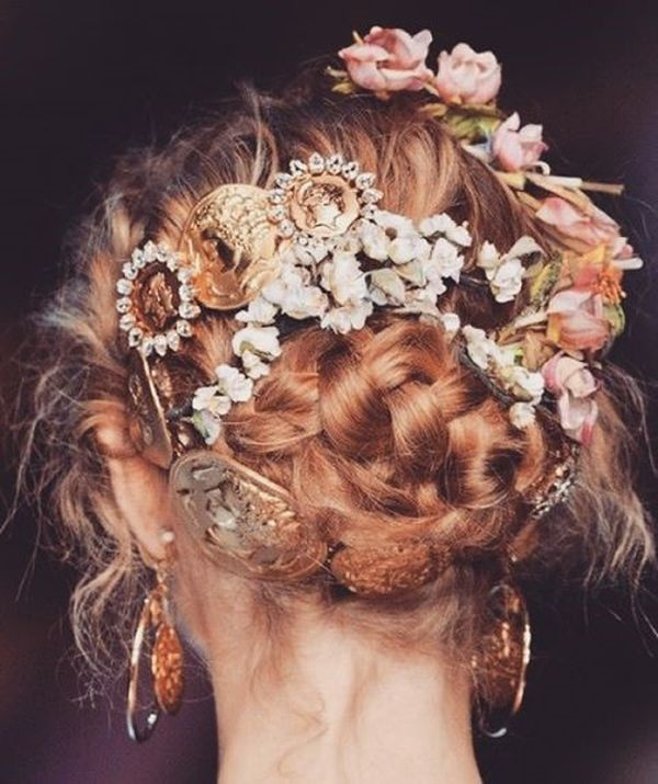 Boho Hairstyles (Perfect For a Wedding) 6