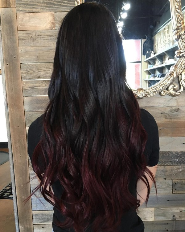 what highlights go with black hair