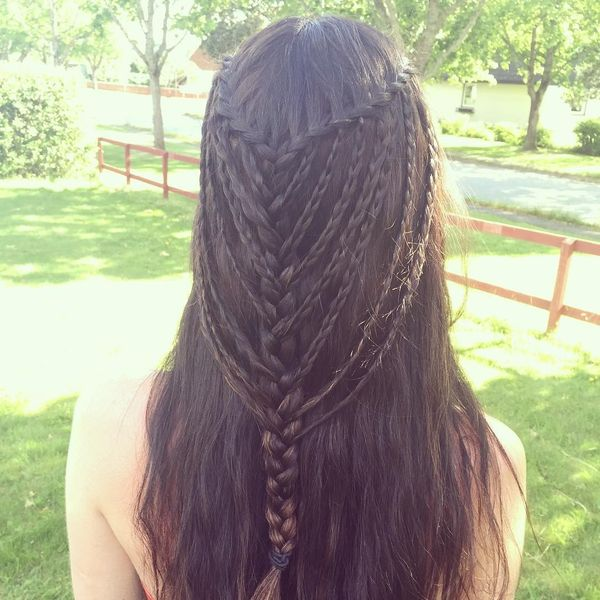 Mermaid's braids