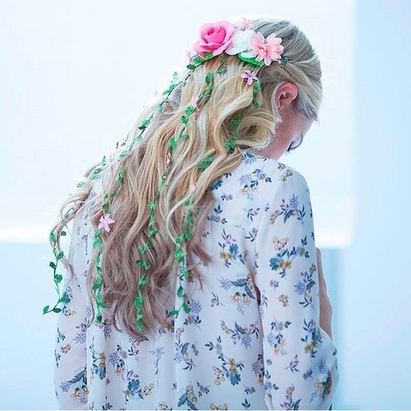 Boho Hairstyles (Perfect For a Wedding) 2