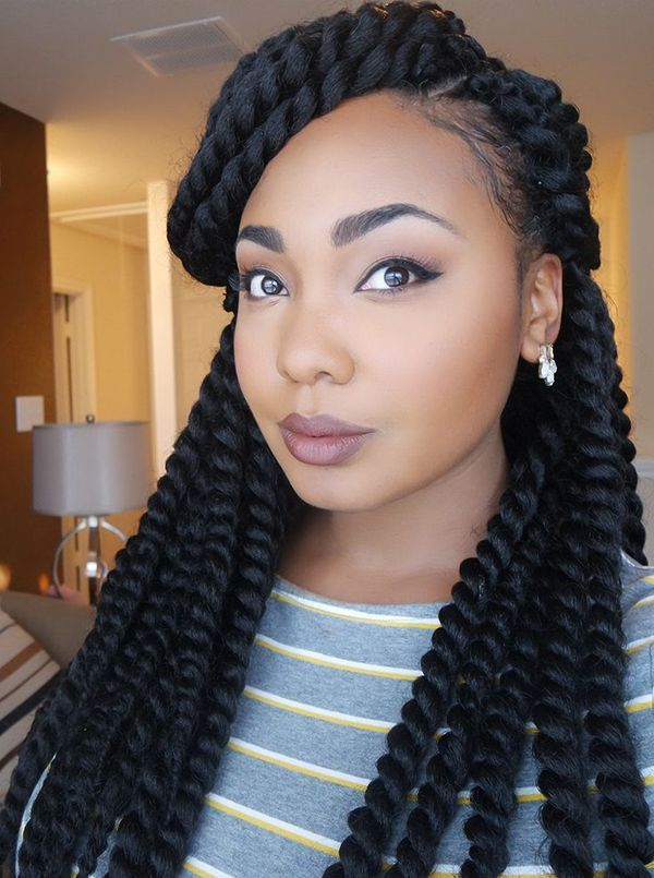 Big Crochet Braids Hairstyles for African Americans 3