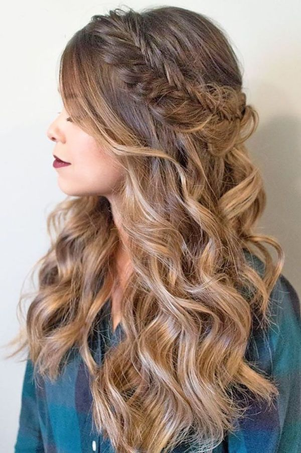 Gorgeous Long Hair Styles for Prom 3