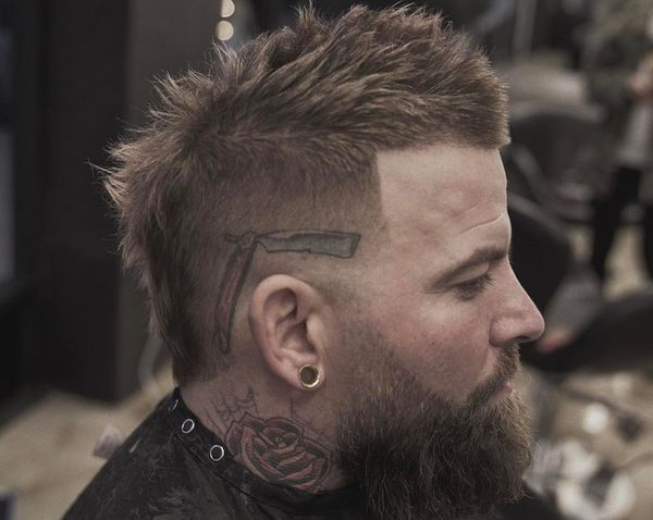 Cool Fauxhawk Haircut Ideas For Men 3