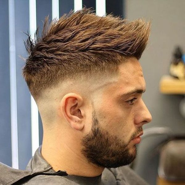 Short Faux Hawk Hairstyle 3