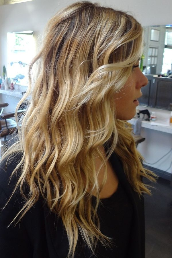 Wavy Hairstyle For Long Fine Thin Hair 1
