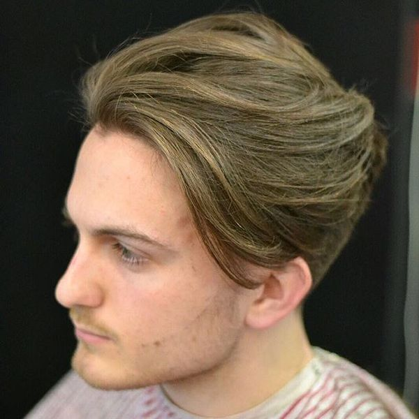 Taper with Free Long Locks