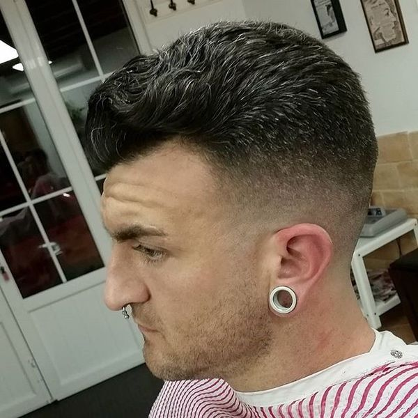 Option for Salt And Pepper Hair