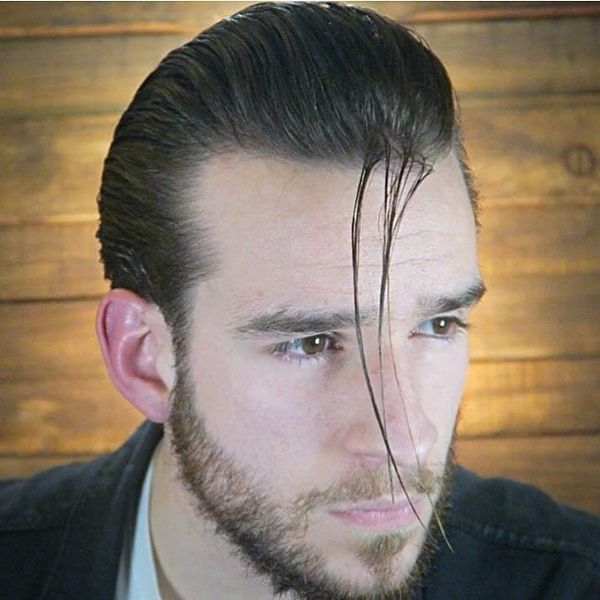 How To Slick Your Hair Back Mens Slicked Hairstyles