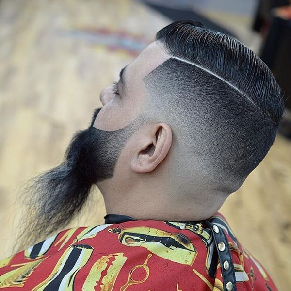 Super Sharp and Clean Bearded Hairstyle