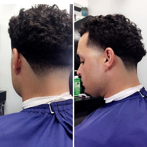 Receding Hairline Blowout