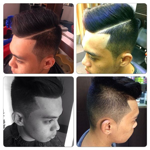 Long Top With Shaved Sides And Back