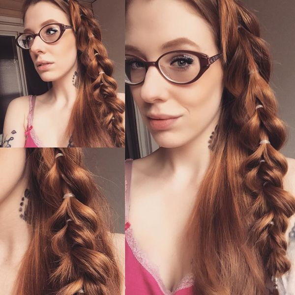 Quick one side braid with fixation