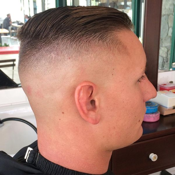 The high and tight haircut for marine corp