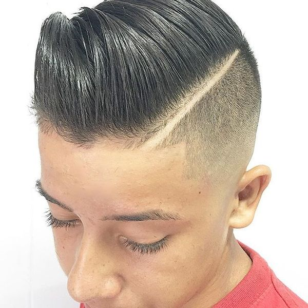 Comb Over Side Part