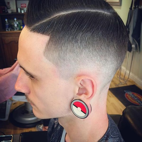 45 Side Part and Ear Tunnels the Best Way to Combine the Uncombined