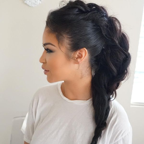 Pompous inside out braid