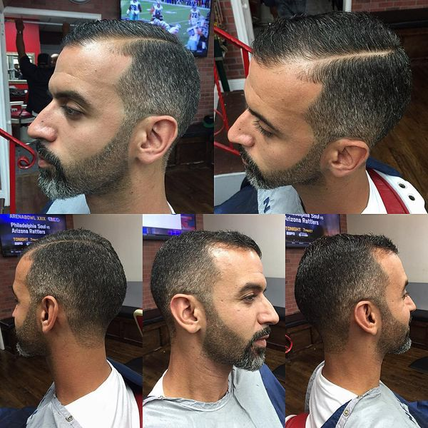Short edge up
