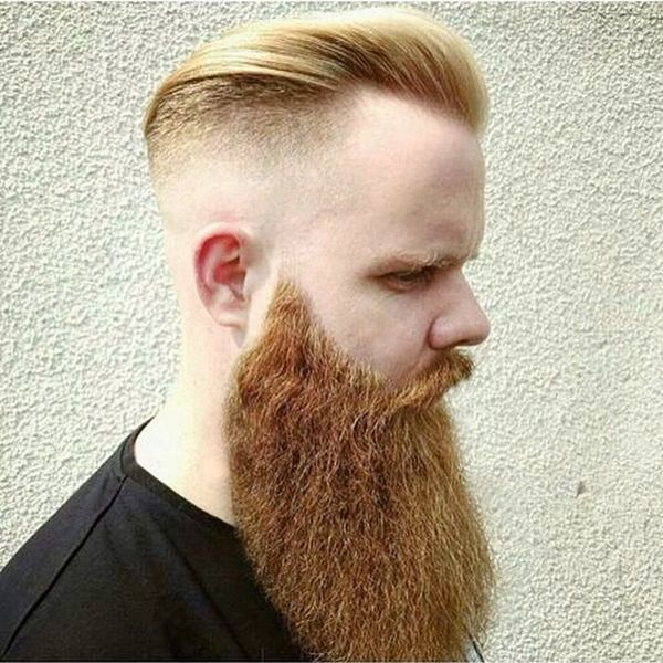 Undercut with Massive Beard