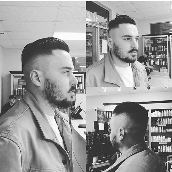 Rockabilly Bearded Skin Fade
