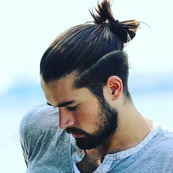 20 Comfortable Top Knots Hairstyle For Men
