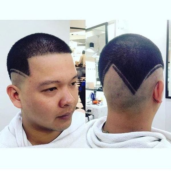 Asian buzz cut and crew cut haircuts 1