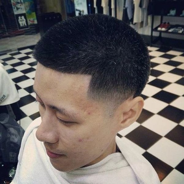Asian buzz cut and crew cut haircuts 2