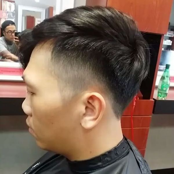 Asian male hairstyles with side part 2