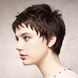 Cascading Messy Bob Hairstyle