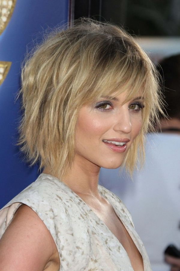 Edgy short shag hairstyles 1