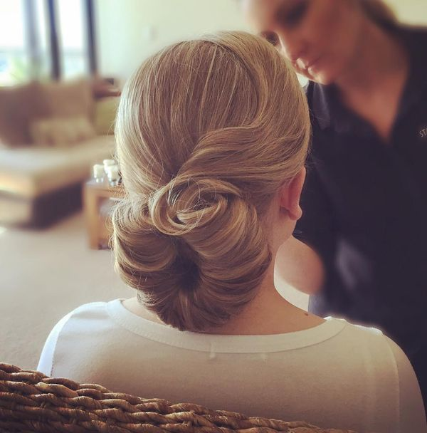 Elegant Shell Updo for an Unforgettable Look