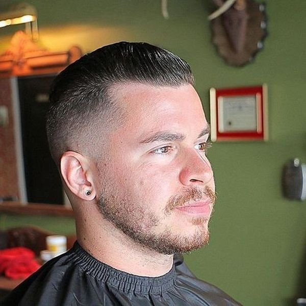 High And Tight With Hair Long On Top 1