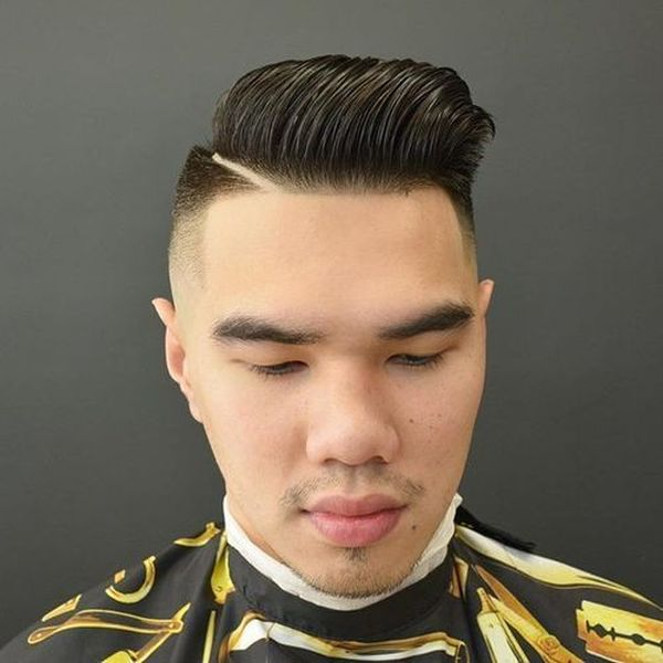 High And Tight With Hair Long On Top 2