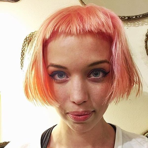 High Bob Variations with an Extremely Short Fringe