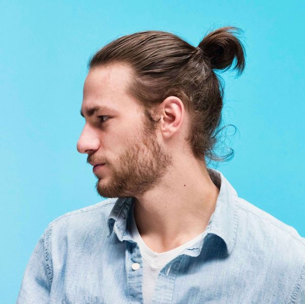 How to tie a man bun 2