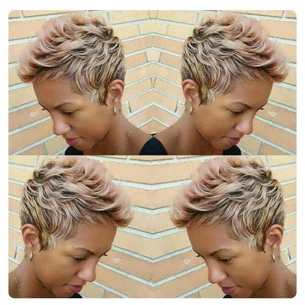 Incredible Streaked Short Mohawk0