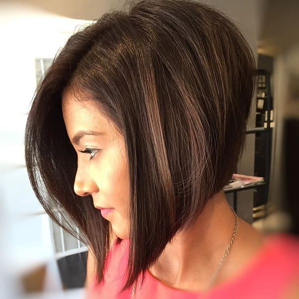 short haircuts without bangs 15 styles trendy diversity for with 2172 | Long Straight Bob without Bangs1213