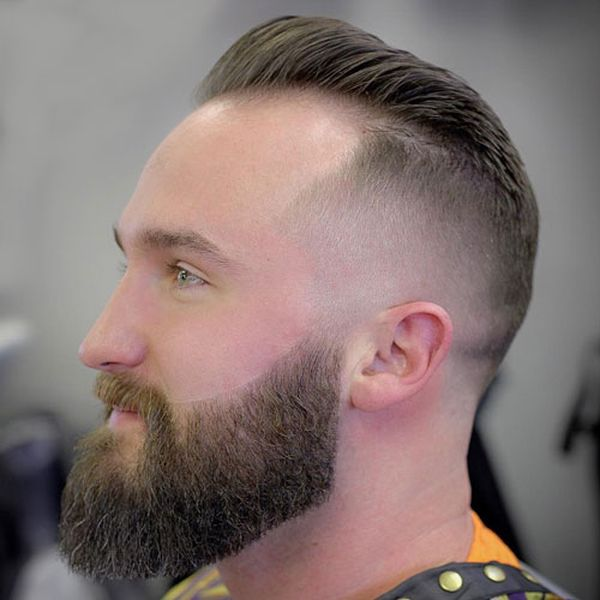 Modern High And Tight With Beard 3
