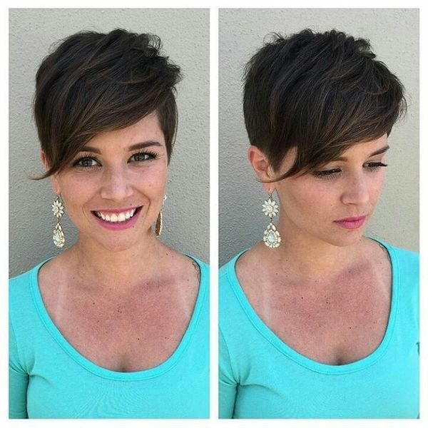 Sexy Long Fringe Styled to One Side3