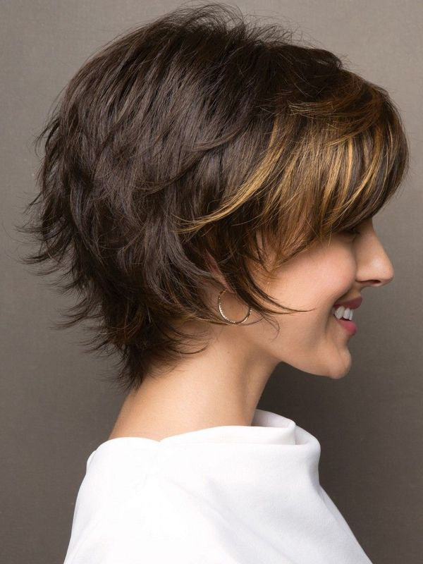 Short layered shaggy haircuts 3