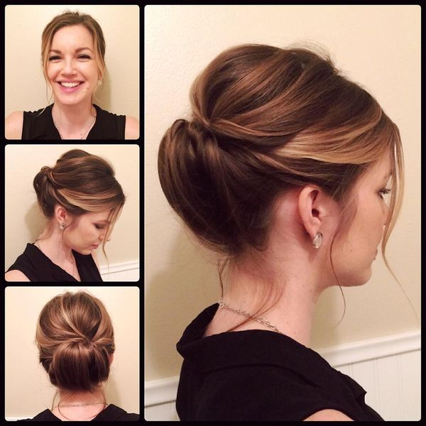 Splendid Updo to Look Charming