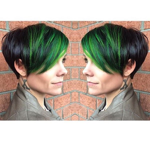 Streaked Out-of-Square Side Bangs192021