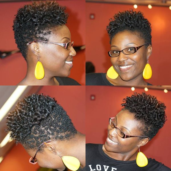 Short Natural Hairstyles for Black Women (September 2018)