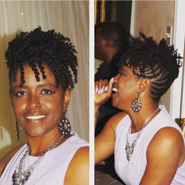 Short Black Natural Braided Hairstyles Easy Braid Haristyles