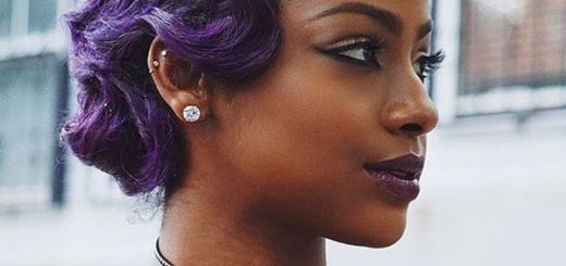 Vintage Locks in the Rich Purple0